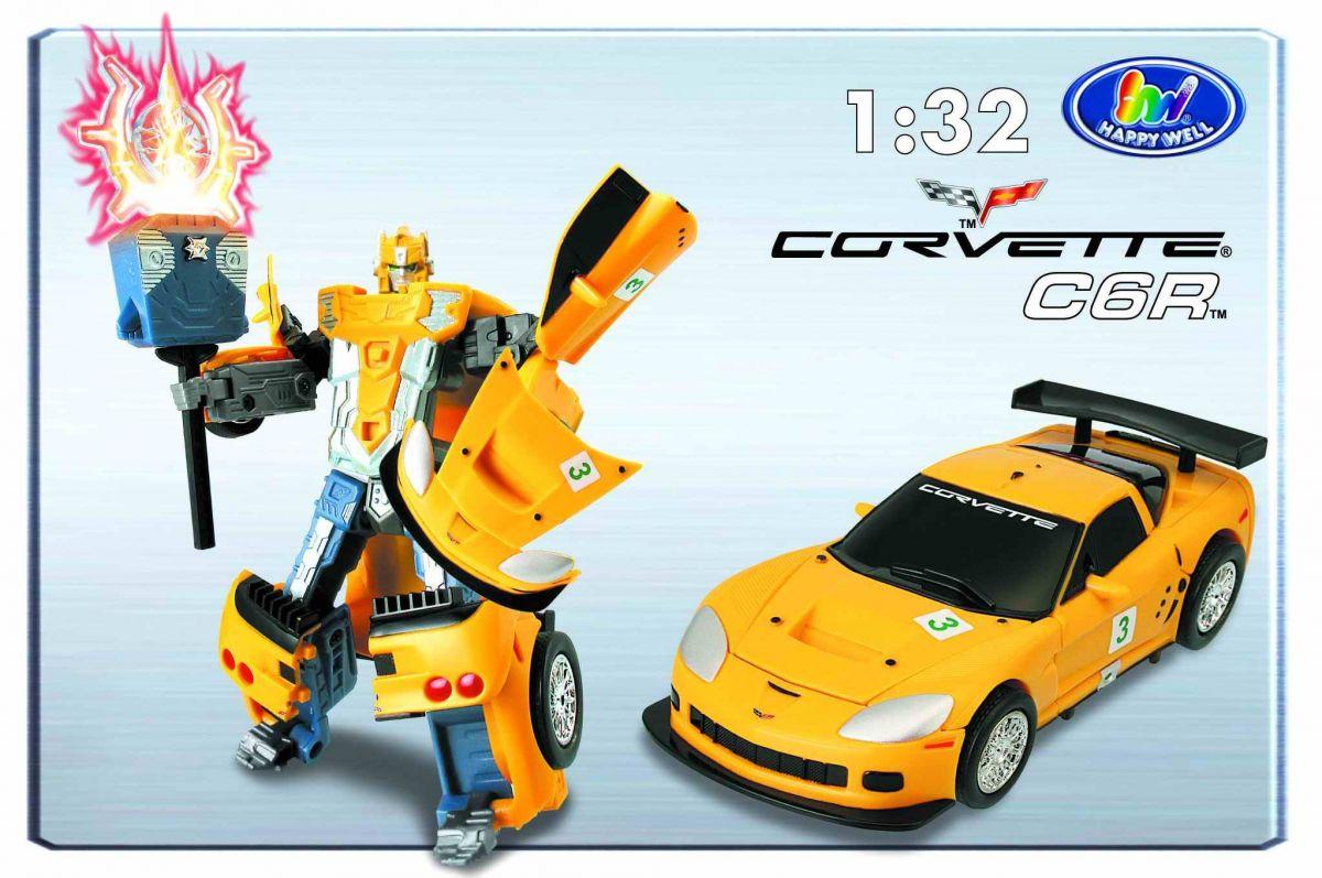 Трансформер «Chevrolet Corvette»Игрушки трансформеры<br><br>