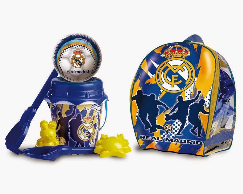 Песочный набор в рюкзаке Реал Мадрид, с мячомВсе для песочницы<br>Песочный набор в рюкзаке Реал Мадрид, с мячом<br>