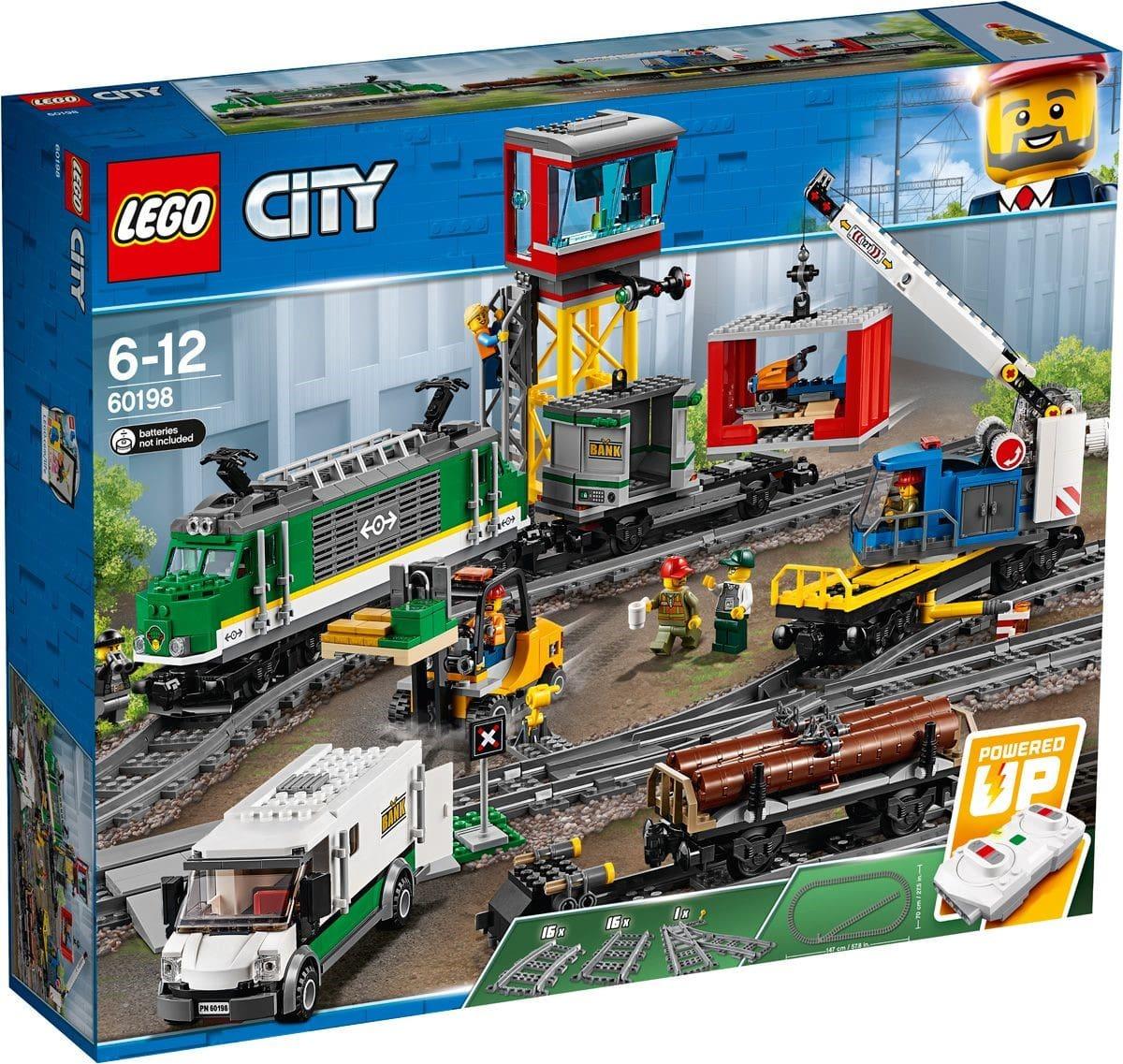 Конструктор Lego City – Товарный поезд
