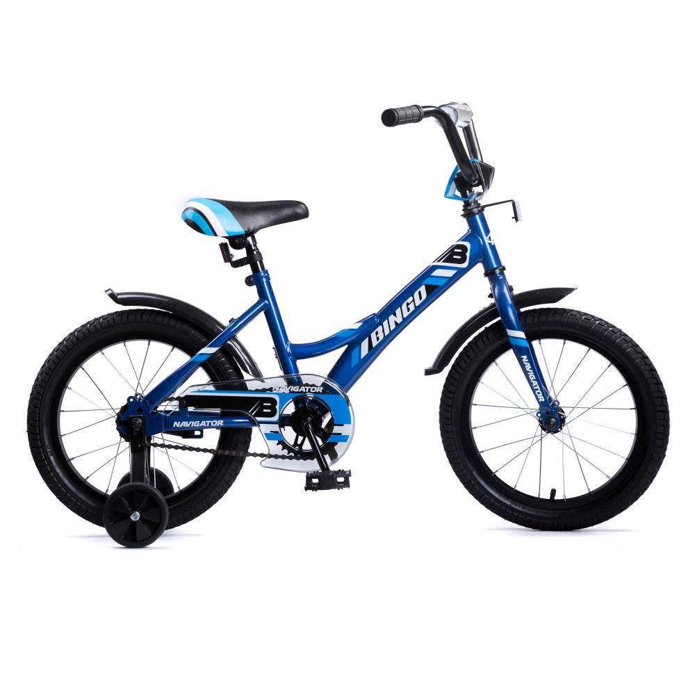 Купить Детский велосипед, Navigator Bingo, колеса 16 , стальная рама, стальные обода, ножной тормоз,