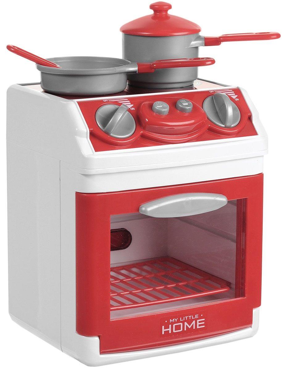 Плита кухонная My Little Home  со светом, звуком и аксессуарамиАксессуары и техника для детской кухни<br>Плита кухонная My Little Home  со светом, звуком и аксессуарами<br>