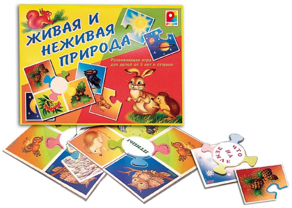 Настольная игра - Живая и неживая природаЖивотные и окружающий мир<br>Настольная игра - Живая и неживая природа<br>