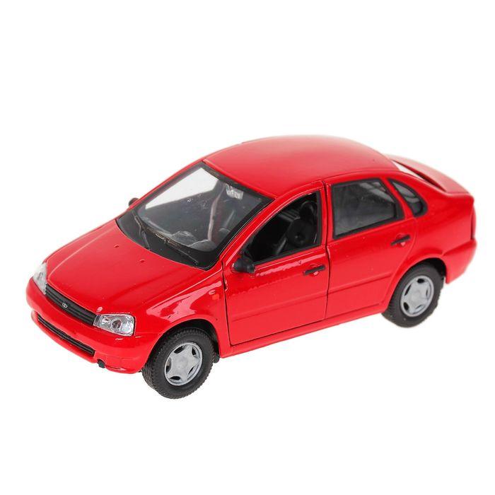 Машинка металлическая Lada Kalina, гражданская 1:34LADA<br>Машинка металлическая Lada Kalina, гражданская 1:34<br>