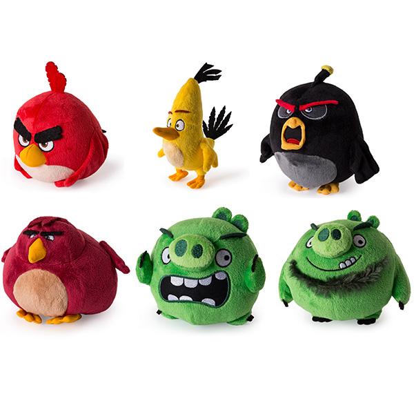 Игрушка из серии «Angry Birds» - плюшевая птичка, 13 см. от Toyway