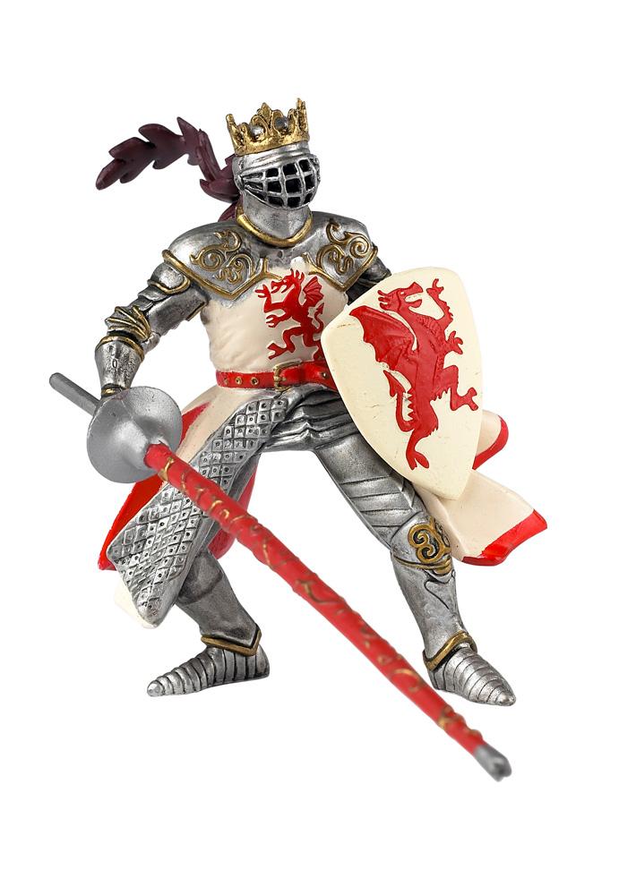 Купить Фигурка Король драконов в красно-белом, Papo