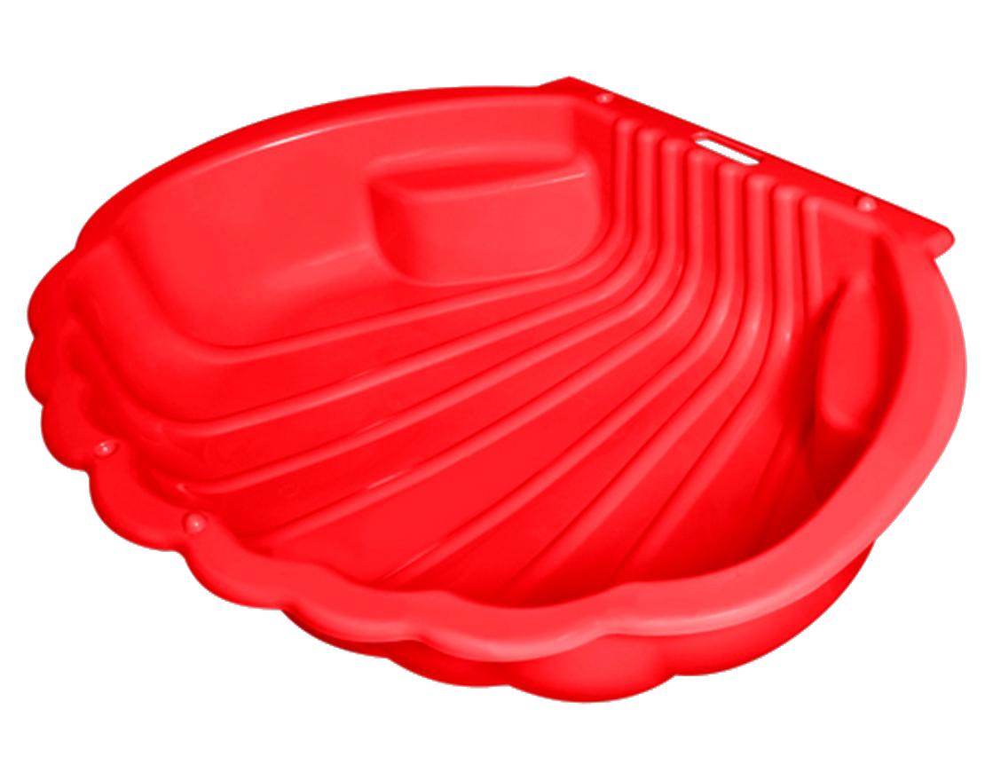 Купить Песочница – Ракушка, красная, Dohany