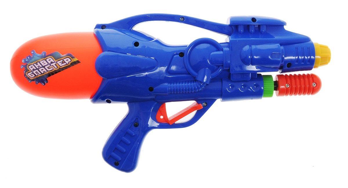 Водное оружие - Аквабластер, синий от Toyway