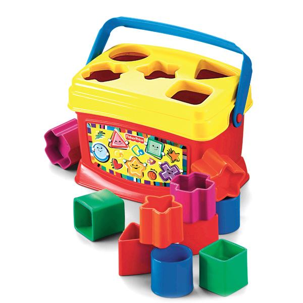 Первые кубики малыша - Сортеры, пирамидки, артикул: 168080