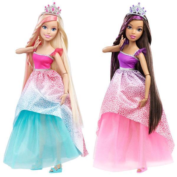Куклы Barbie® большого размера с длинными волосами, 2 видаКуклы Barbie (Барби)<br>Куклы Barbie® большого размера с длинными волосами, 2 вида<br>