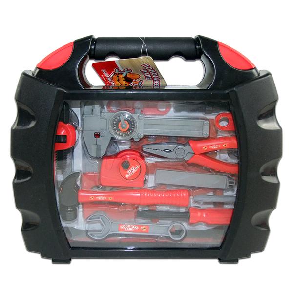 Игровой набор инструментов в чемоданчикеДетские мастерские, инструменты<br>Игровой набор инструментов в чемоданчике<br>