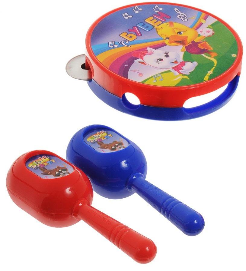 Купить Набор музыкальных инструментов: бубен и маракасы из серии DoReMi, ABtoys