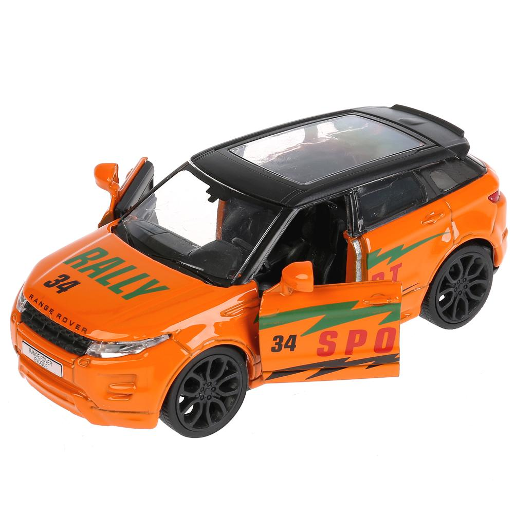 Купить Металлическая инерционная машина - Land Rover Range Rover Evoque - Спорт 12, 5 см, открываются двери, Технопарк