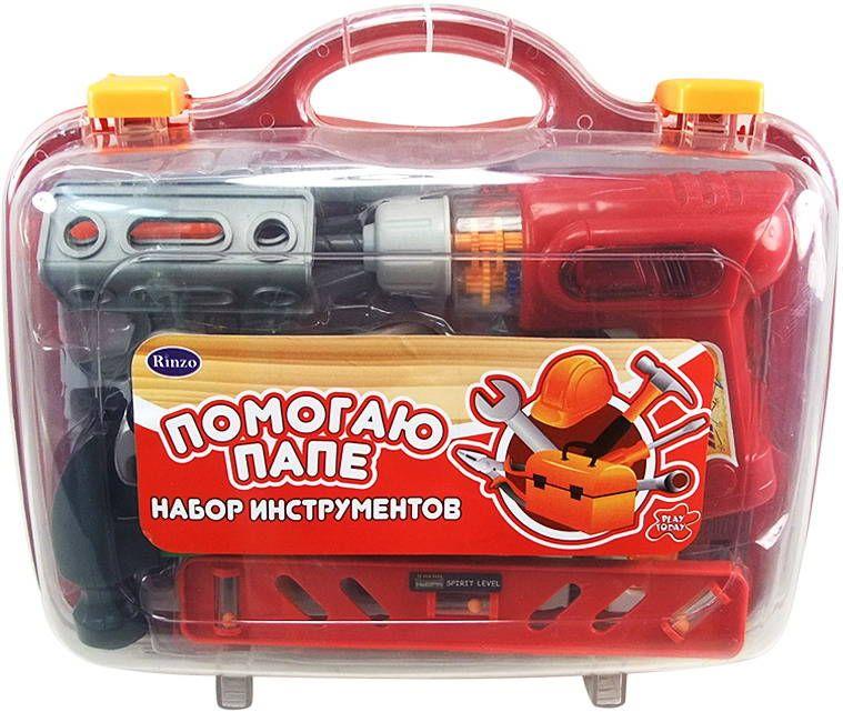 Набор инструментов, 26 предметов, в чемодане, серия «Помогаю Папе»Детские мастерские, инструменты<br>Набор инструментов, 26 предметов, в чемодане, серия «Помогаю Папе»<br>