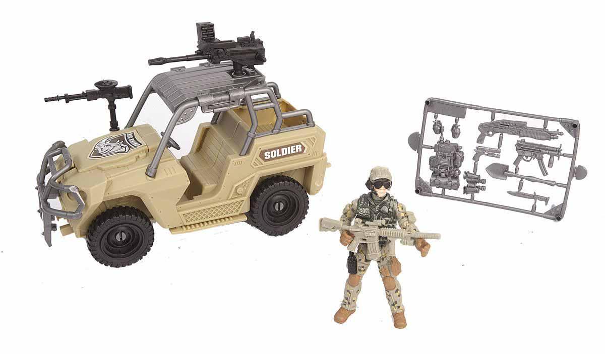 Набор - Армейский внедорожникРоботы, Воины<br>Набор - Армейский внедорожник<br>