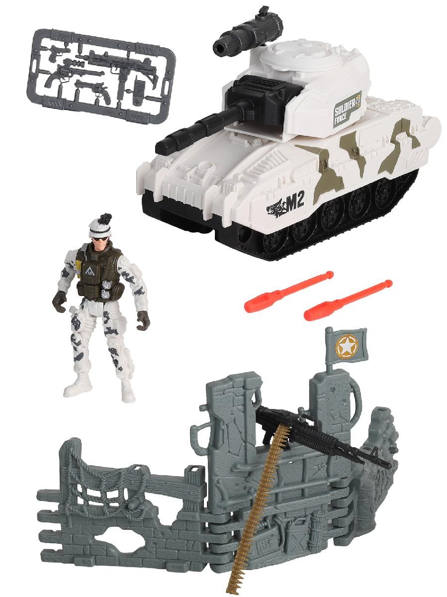 Купить Игровой набор: Солдаты. Стремительная атака на танке, Chap Mei