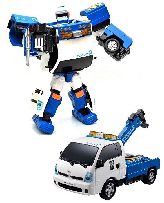 Тобот ZERO, превращающийся в манипуляторТрансформеры Tobot<br>Тобот ZERO, превращающийся в манипулятор<br>