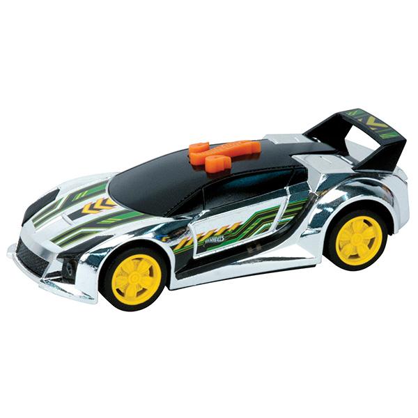 Машинка Hot Wheels со светом и звуком – Спойлер, чёрный, 13,5 смHot Wheels<br>Машинка Hot Wheels со светом и звуком – Спойлер, чёрный, 13,5 см<br>