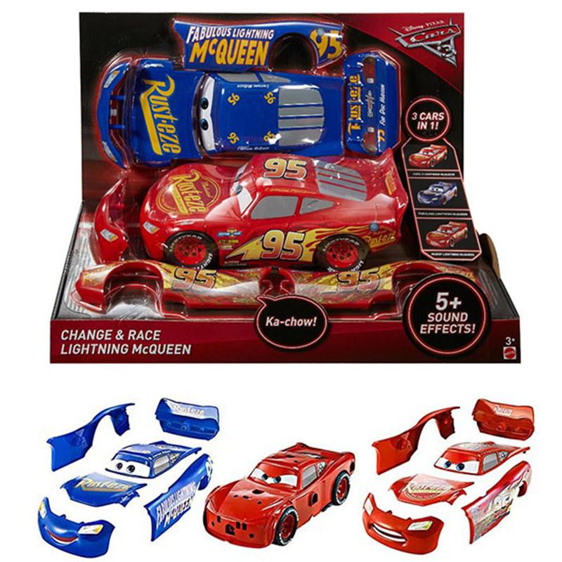 Игрушка Mattel Cars - МакКвин со сменными деталямиCARS 3 (Игрушки Тачки 3)<br>Игрушка Mattel Cars - МакКвин со сменными деталями<br>