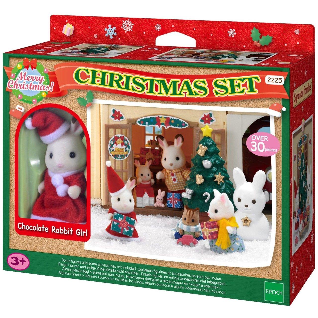 Игровой набор Рождественский праздник из серии Sylvanian FamiliesМебель<br>Игровой набор Рождественский праздник из серии Sylvanian Families<br>