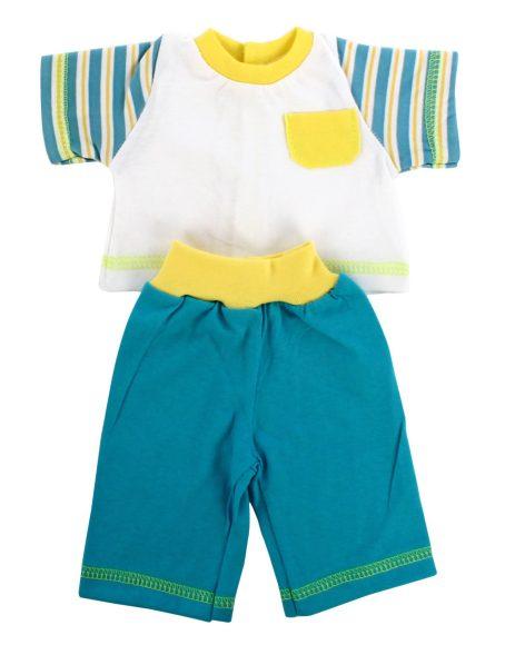 Одежда для куклы размером 42 см. - футболка и шортики, несколько цветовОдежда для кукол<br>Одежда для куклы размером 42 см. - футболка и шортики, несколько цветов<br>