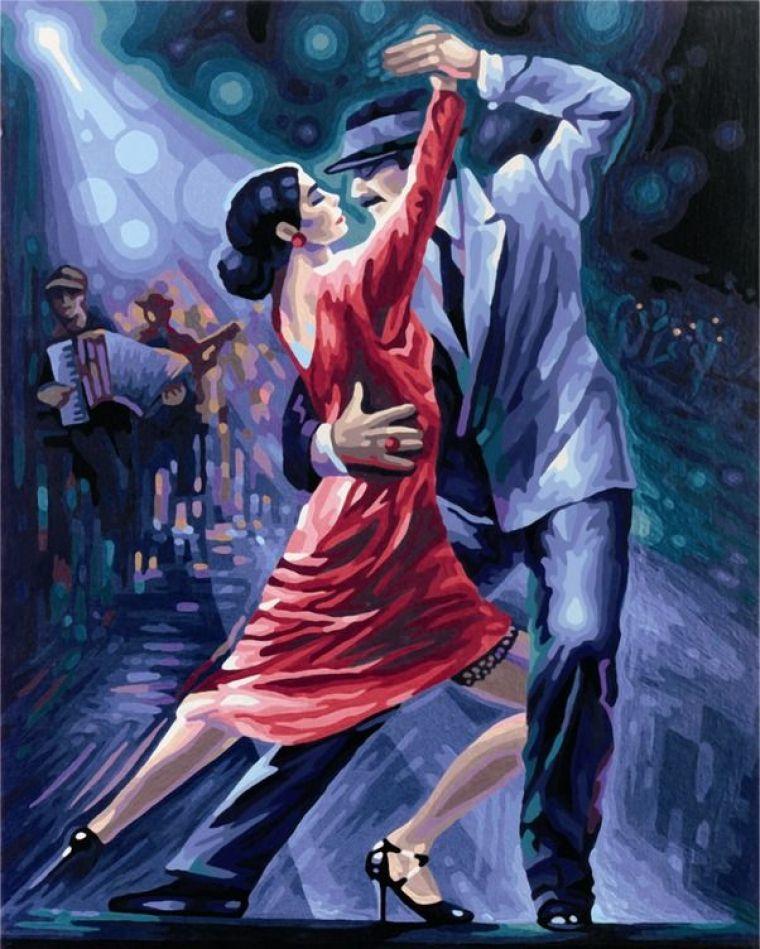 Танго в ночи, 40х50 смРаскраски по номерам Schipper<br><br>