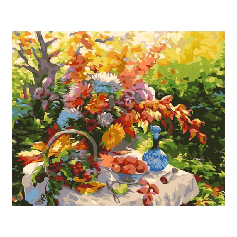 Раскраски по номерам - Картина «Дары природы», 40 х 50 см.Раскраски по номерам Schipper<br>Раскраски по номерам - Картина «Дары природы», 40 х 50 см.<br>
