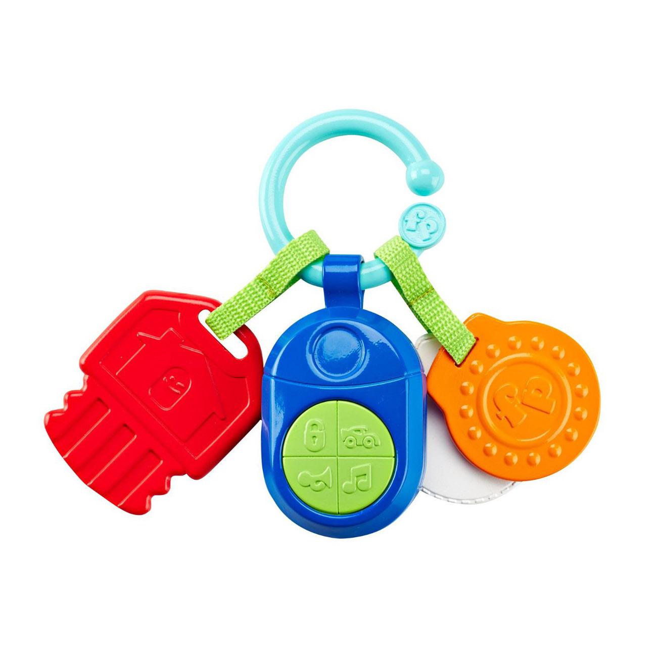 Прорезыватель - КлючикиДетские погремушки и подвесные игрушки на кроватку<br>Прорезыватель - Ключики<br>