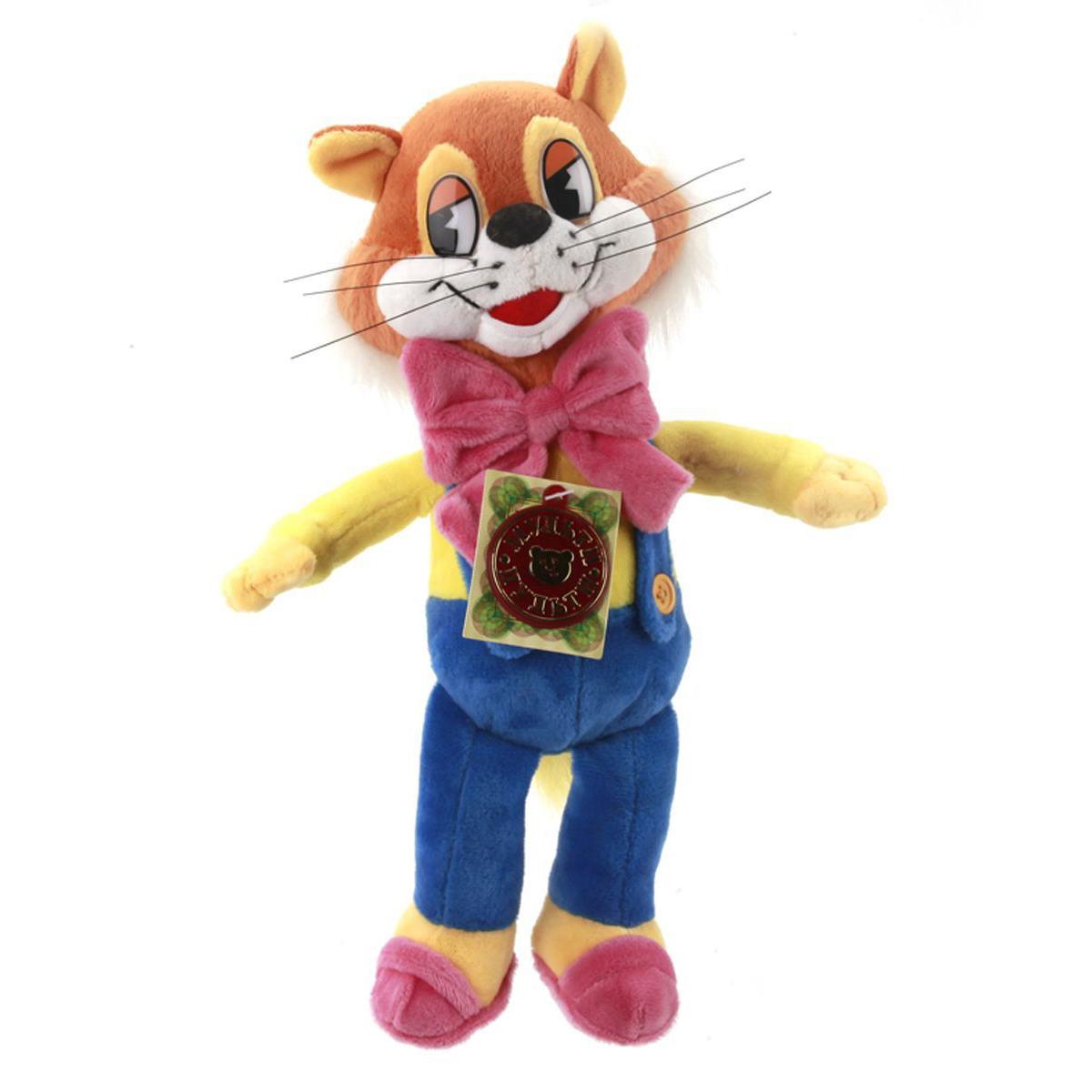 Мягкая игрушка Кот Леопольд, озвученный, 20 смГоворящие игрушки<br>Мягкая игрушка Кот Леопольд, озвученный, 20 см<br>