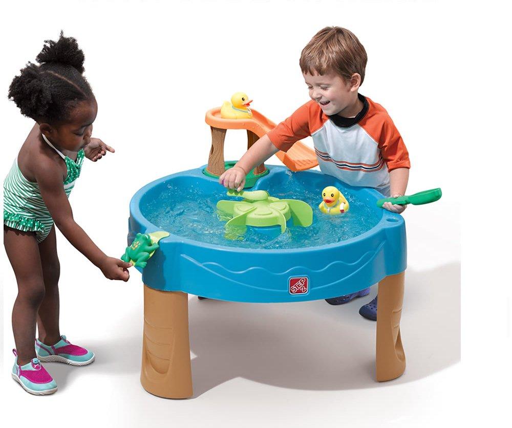 Столик для игр с водой Step 2 - Весёлые утятаДетские песочницы<br>Столик для игр с водой Step 2 - Весёлые утята<br>