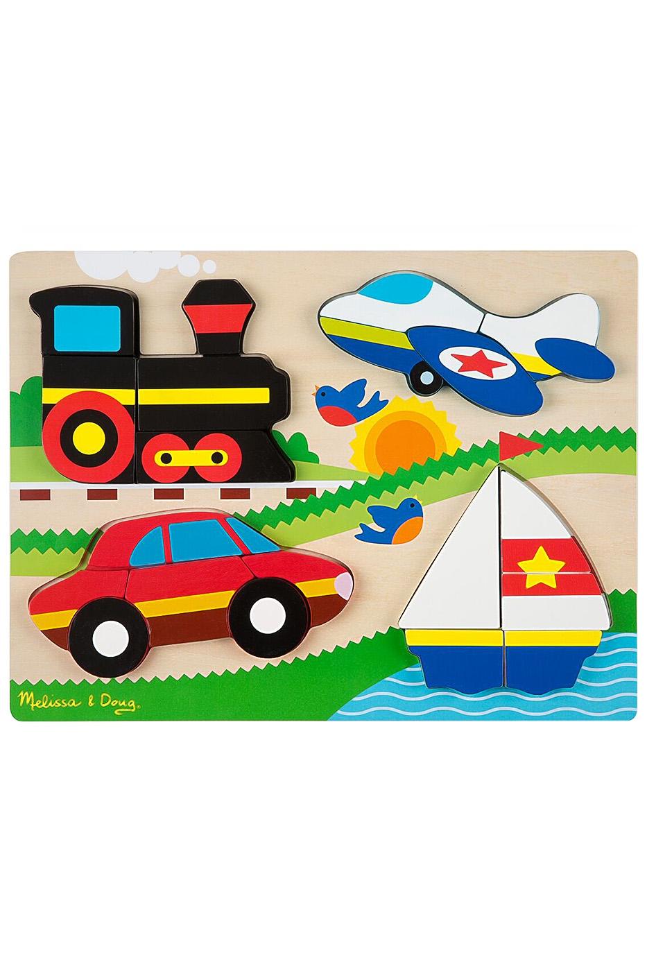 Мои первые пазлы - транспортПазлы для малышей<br>Мои первые пазлы - транспорт<br>