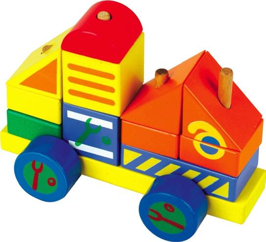 Конструктор - автомобиль 4Кубики<br>Конструктор - автомобиль 4<br>