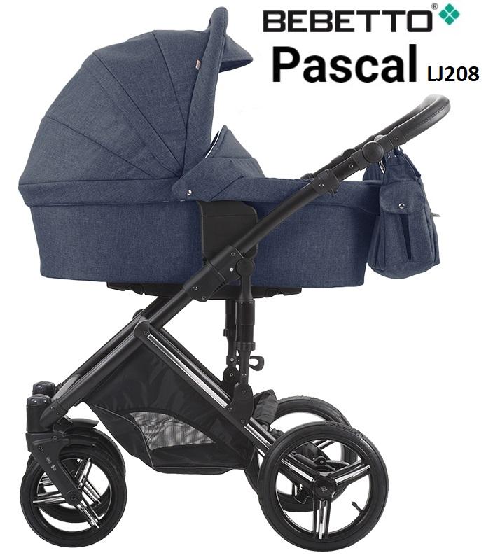 Детская коляска Bebetto Pascal 2 в 1, шасси черная/CZAДетские коляски 2 в 1<br>Детская коляска Bebetto Pascal 2 в 1, шасси черная/CZA<br>