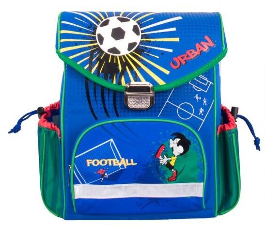 Купить Школьный рюкзак Gulliver – Футбол, синий