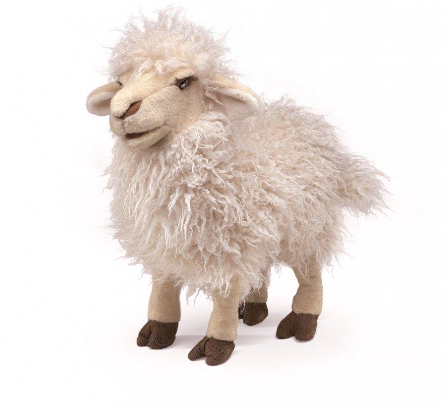 Мягкая игрушка - Белая овца, 41 см