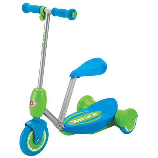 Электросамокат с сиденьем Razor Lil E, голубой, 011103