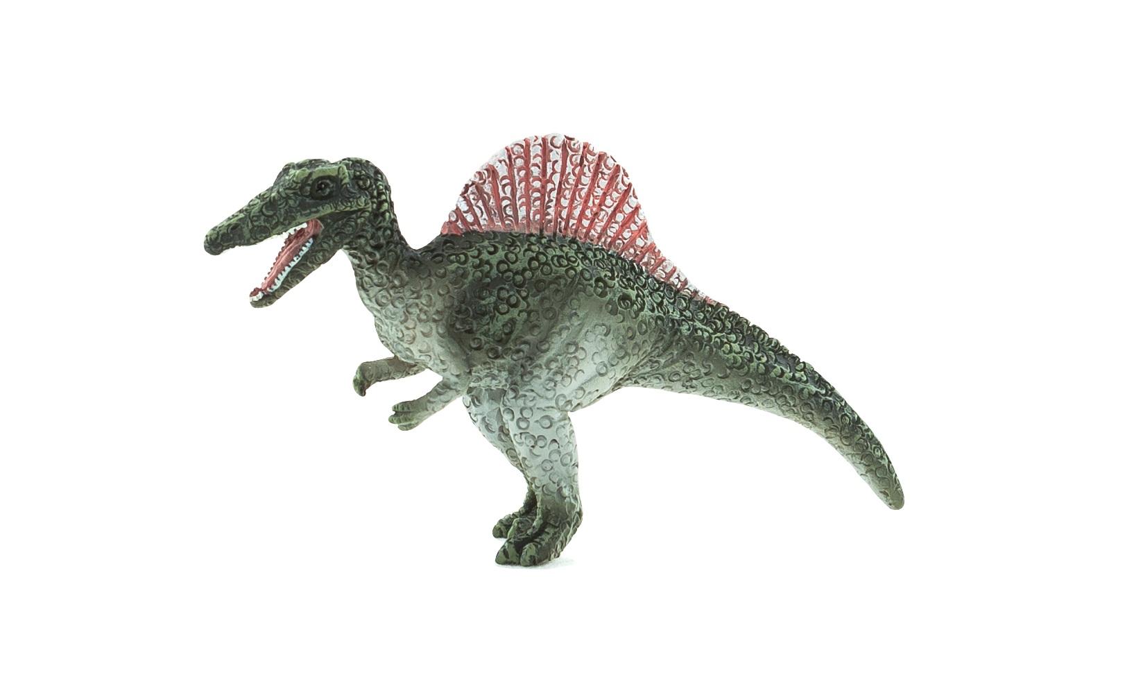 Спинозавр, 7 смЖизнь динозавров (Prehistoric)<br>Спинозавр, 7 см<br>