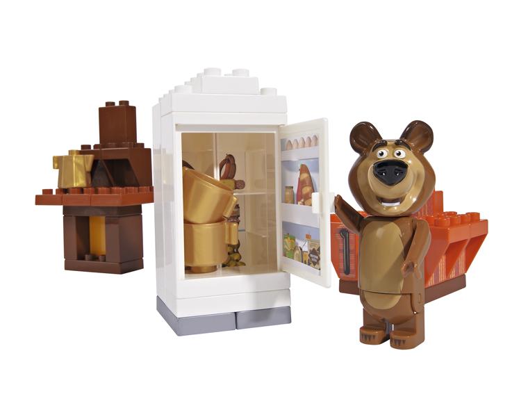 Конструктор Маша и Медведь - Кухня МишкиМаша и медведь игрушки<br>Конструктор Маша и Медведь - Кухня Мишки<br>
