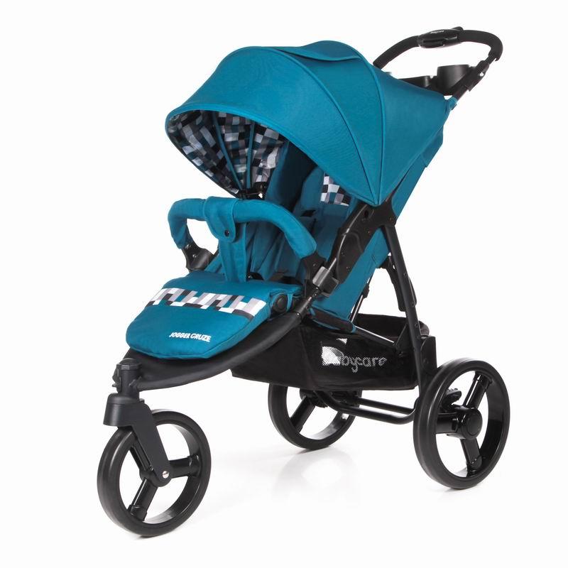 Коляска прогулочная Jogger Cruze, цвет - Blue 17Детские прогулочные коляски<br>Коляска прогулочная Jogger Cruze, цвет - Blue 17<br>