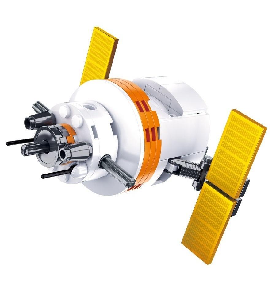 Конструктор - Космический корабль 65 деталей.
