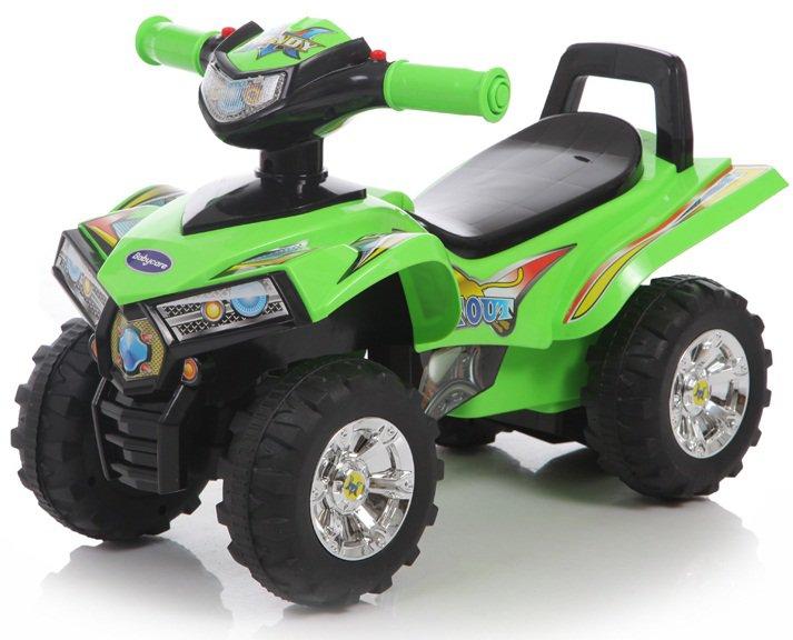 Детская зелёная каталка Super ATV со звуковыми эффектамиМашинки-каталки для детей<br>Детская зелёная каталка Super ATV со звуковыми эффектами<br>