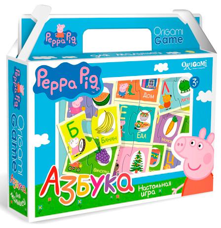 Peppa Pig. Игра настольная. АзбукаСвинка Пеппа Peppa Pig<br>Peppa Pig. Игра настольная. Азбука<br>