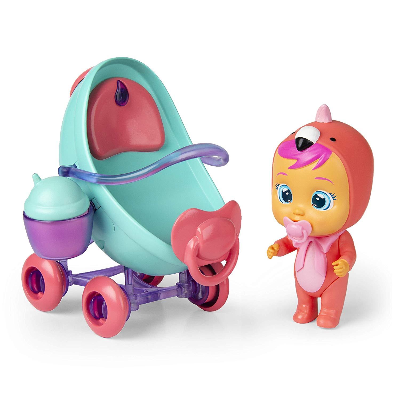 Интерактивная кукла Crybabies Magic Tears - Плачущий младенец Фэнси в комплекте с коляской и аксессуарами по цене 2 103