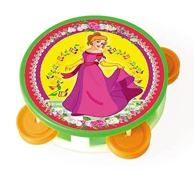 Купить Музыкальная игрушка Бубен - Любимая Принцесса, маленький, Рыжий Кот