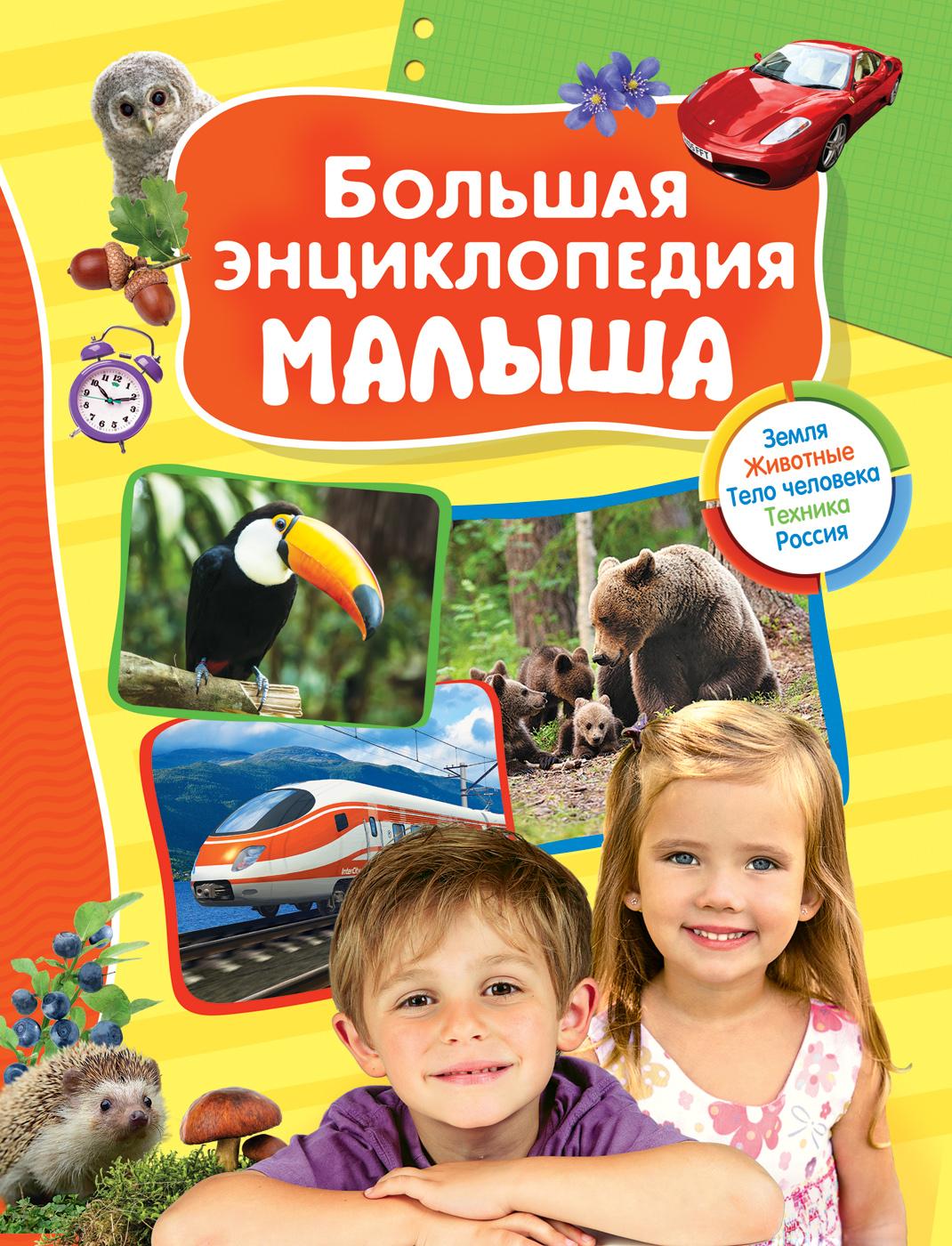 Большая энциклопедия малышаДля малышей в картинках<br>Большая энциклопедия малыша<br>