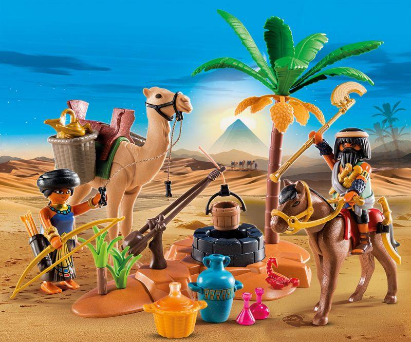 Купить Игровой набор – Римляне и Египтяне: Лагерь Расхитителей гробниц, Playmobil