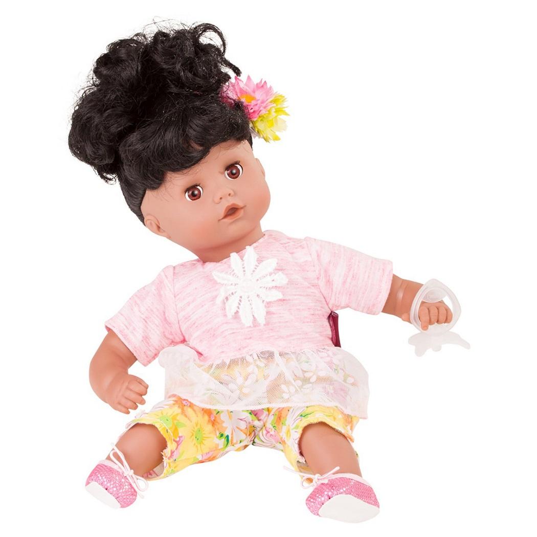 Кукла Маффин, брюнетка, 33 см.Куклы Gotz (Гетц)<br>Кукла Маффин, брюнетка, 33 см.<br>