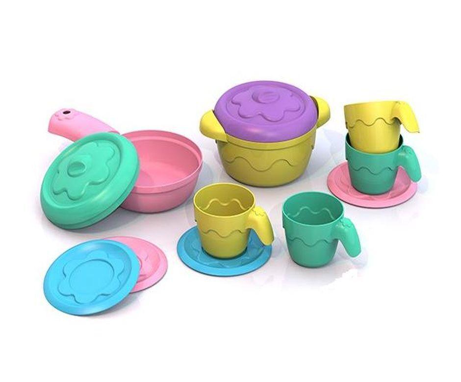 Купить Набор посуды – Шкода, 10 предметов, Нордпласт