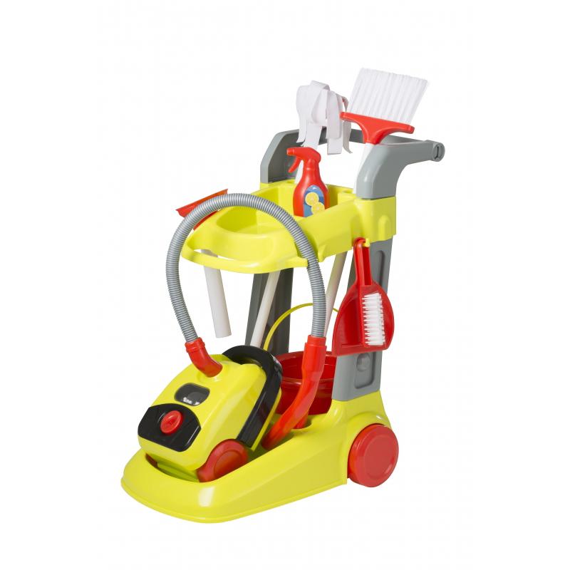 Тележка для уборки с пылесосом SmartУборка дома, стирка, глажка<br>Тележка для уборки с пылесосом Smart<br>