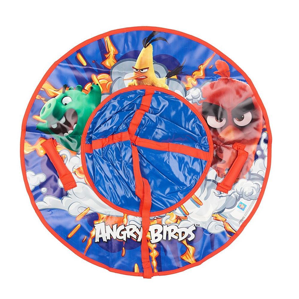 Купить Тюбинг - надувные сани из серии Angry Birds с резиновой автокамерой, 85 см., 1TOY