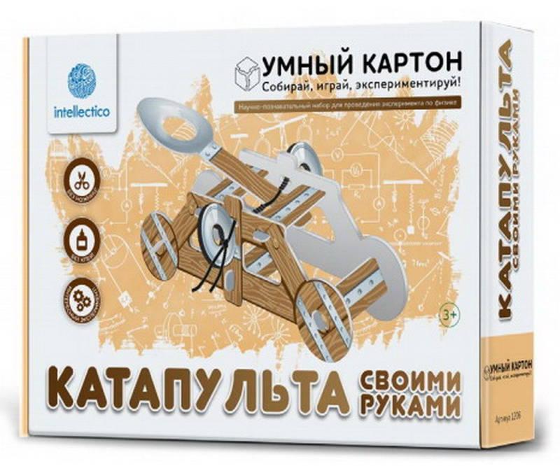 Купить Научно-познавательный набор для экспериментов - Катапульта своими руками, Intellectico